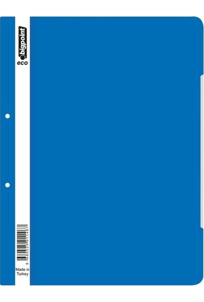 Bigpoint Plastik Telli Dosya Mavi 50'li 2 Paket (100 Adet )