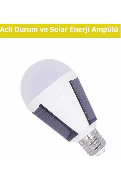 K2 7W Acil Durum Solar Enerji Ampulu