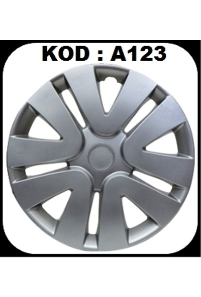 Tüm Renault Araçlara Uyumlu Jant Kapağı Takımı 4'lü 15 İnç
