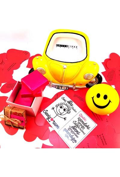 E-Hediyeci Sevgiliye Çikolatalı Hediye Kutusu- Model-16