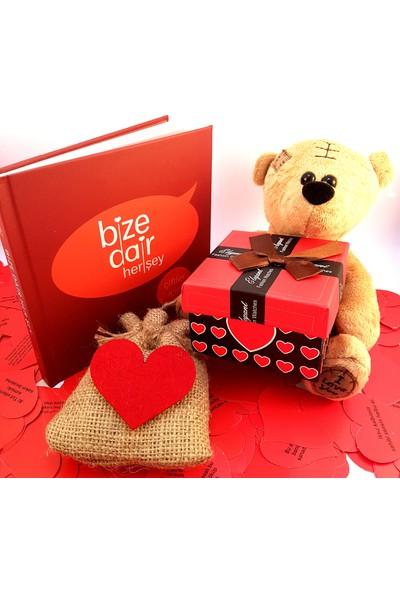 E-Hediyeci Sevgiliye Romantik Hediye Seti - Model 20