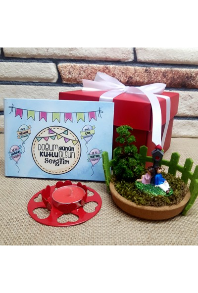 E-Hediyeci Doğum Günün Kutlu Olsun Hediye Kutusu - S22