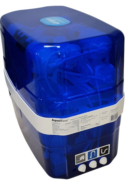 Global Water Solutions AquaWave Premium 2.2 Galon Pompasız Su Arıtma Cihazı - +1 Filtre Seti HEDİYE