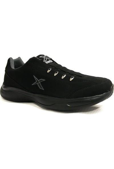 Kinetix Audrey Siyah Bağcıksız Spor Ayakkabı