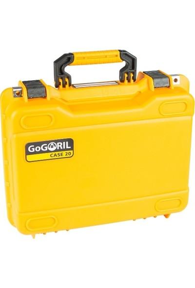Gogoril G20 Djı Mavic Pro Combo Hardcase Çanta Sarı