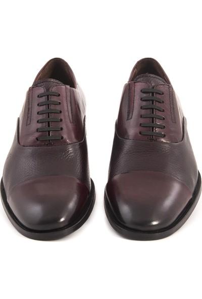 Mocassini Bordo Geyık 40905 Erkek Ayakkabı