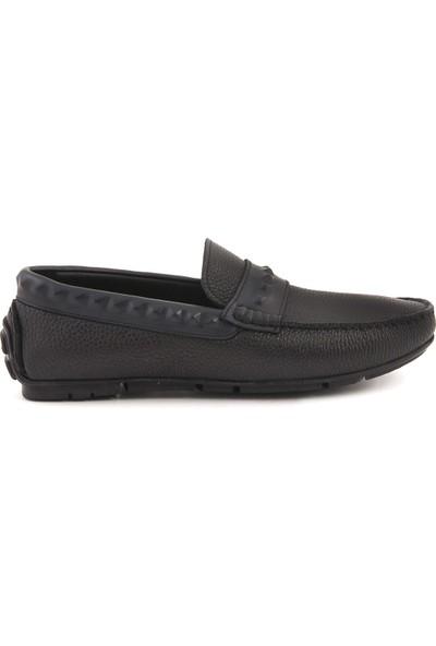 Mocassini Siyah M5 Erkek Ayakkabı