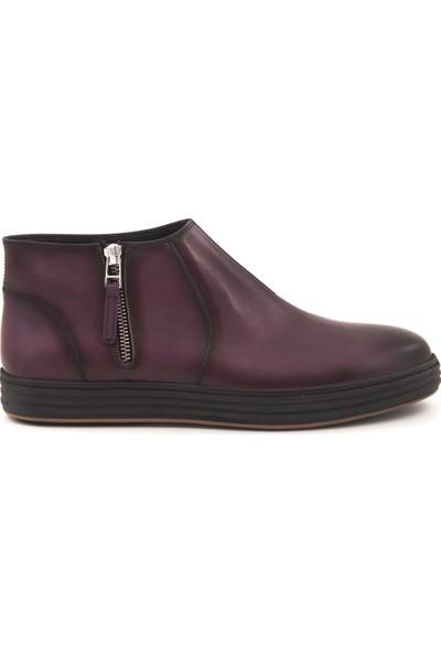 Mocassini Bordo 3956 Erkek Ayakkabı