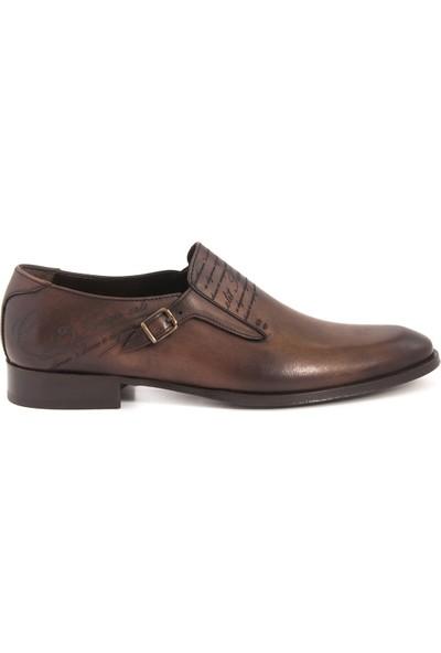 Kemal Tanca Kahve T005 Erkek Ayakkabı