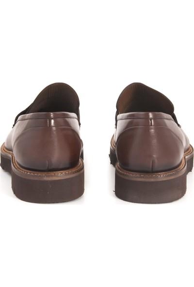 Kemal Tanca Kahve 7703 Erkek Ayakkabı