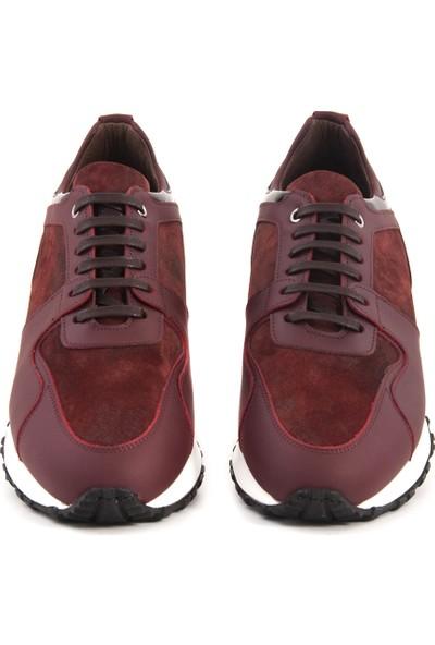 Mocassini Bordo D540X Erkek Ayakkabı