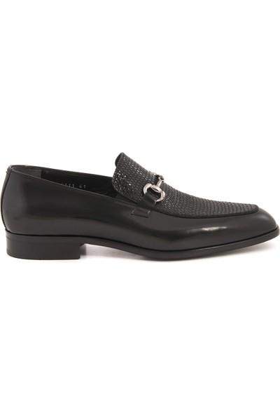 Mocassini Siyah 4111 Erkek Ayakkabı