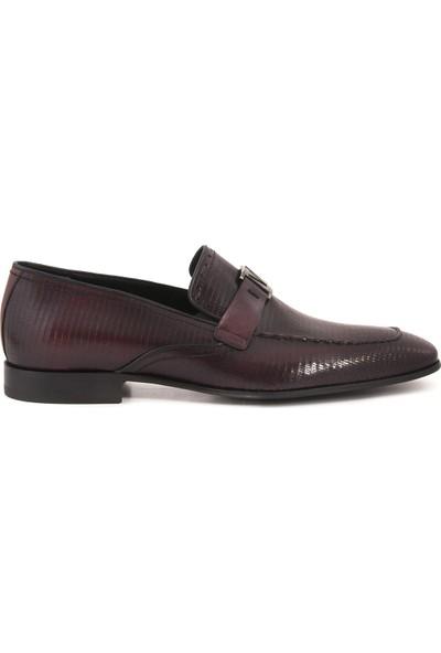 Mocassini Bordo 7300 Erkek Ayakkabı