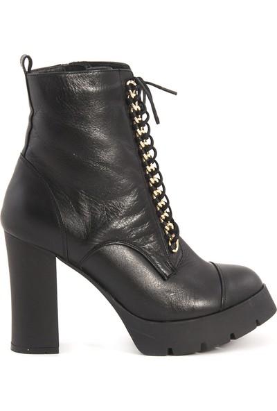 Rouge Siyah 3616 Kadın Ayakkabı