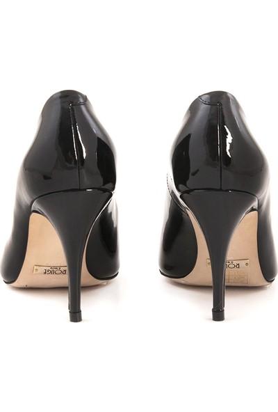 Rouge Siyah Rugan 4924-02 Kadın Ayakkabı