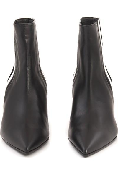 Rouge Siyah Beyaz 8972-10 Kadın Ayakkabı