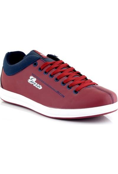 Ayakkabı Tarzım Bordo Erkek Spor Ayakkabı GRN00378