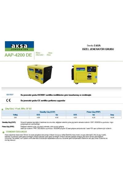 Aksa AAP-4200DE OTM