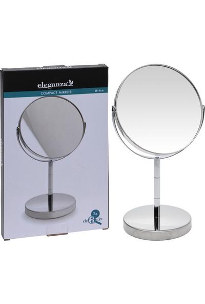 Koopman Ayaklı Makyaj Aynası Metal 26.5X16X12Cm