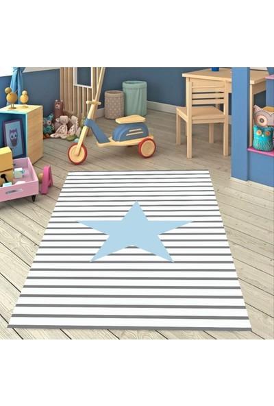 Karaval Yıldız Çocuk Odası Halısı