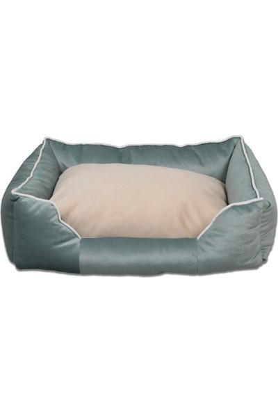 Tulyano Novum Kedi Köpek Yatağı 85x110x28 cm Yeşil