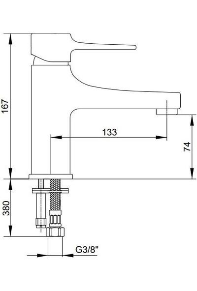 Eca Caro Lavabo Bataryası 102108892 E.C.A.