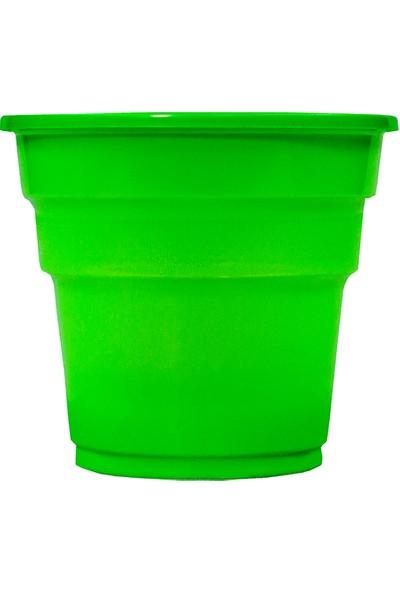 Niceplast Yeşil Plastik Bardak 25'li Paket