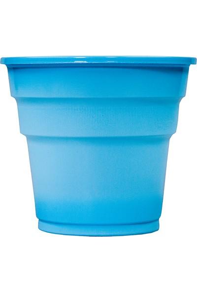 Niceplast Mavi Plastik Bardak 25'li Paket