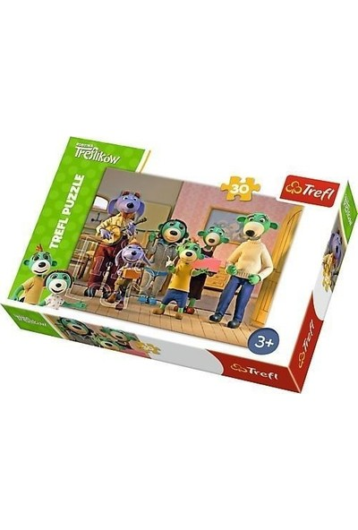 Trefl Puzzle Treflik Family Happy Day 30 Parça Puzzle