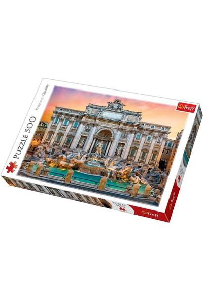 Trefl Puzzle Fontanna Di Trevi, Rome 500 Parça Puzzle