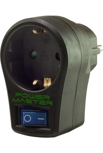 Powermaster 16816 Akım Korumalı Priz