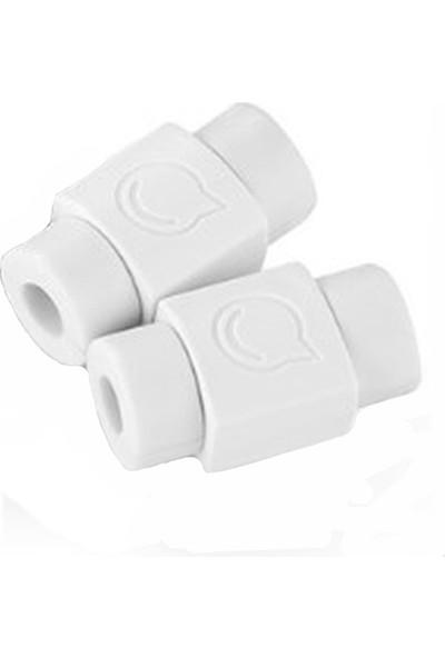 Svsera Universal USB Kablo Koruyucu Beyaz