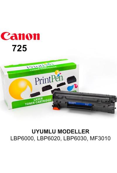 Printpen Canon İsensys LBP6020, CRG725 Siyah Muadil Toner Kartuş