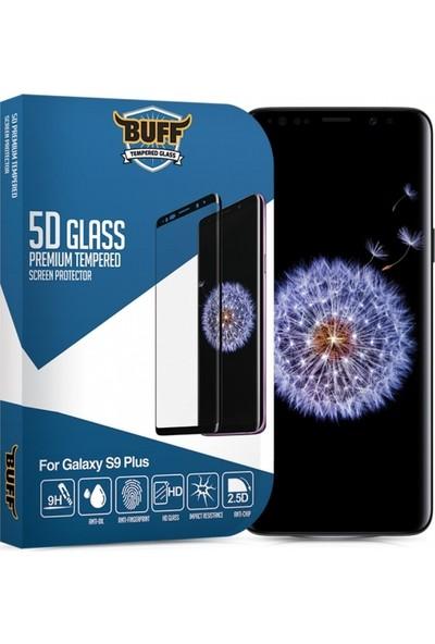 Buff Samsung Galaxy S9 Plus 5D Glass Ekran Koruyucu