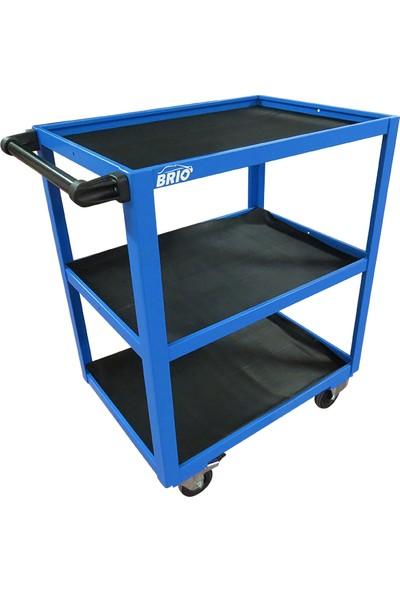 Brio Hareketli Çalışma Tezgâhı Mavi