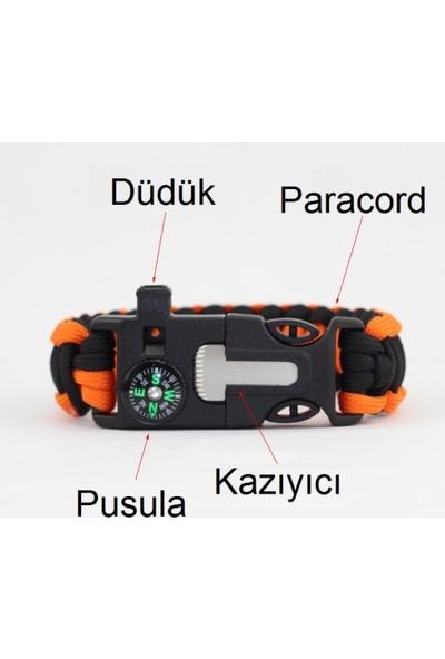 Paracord Paraşüt İpi Survival Bileklik