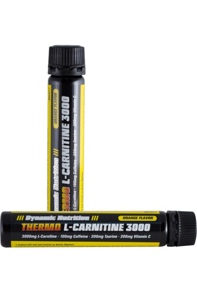 Dynamic Nutrition Thermo L-Carnitine 3000 Mg 20 Ampül (Portakal)