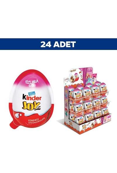 Kinder Joy Süpriz Yumurta Kızlar İçin 20 gr x 24'lü