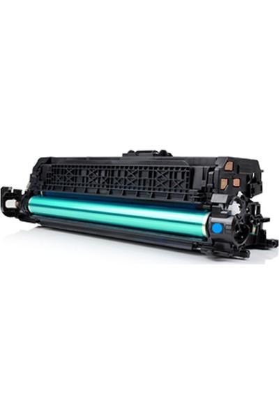 TNR HP 648A / CE261A Mavi Muadil Toner CP4025/CP4525