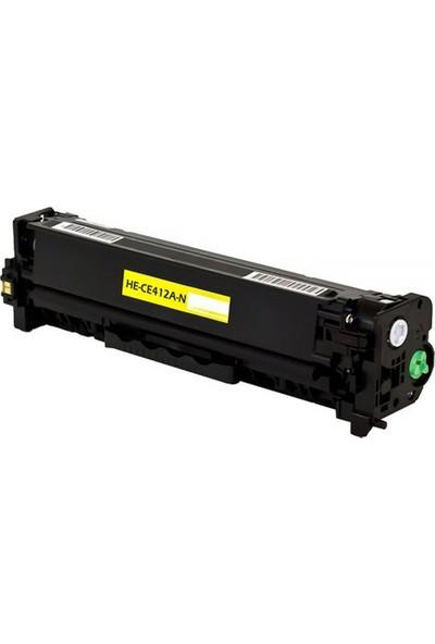 TNR HP CE412A M475DN, M475DW 305A Sarı Muadil Toner