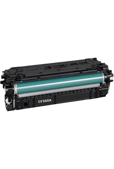 TNR HP 652A / CF320A Siyah Muadil Toner