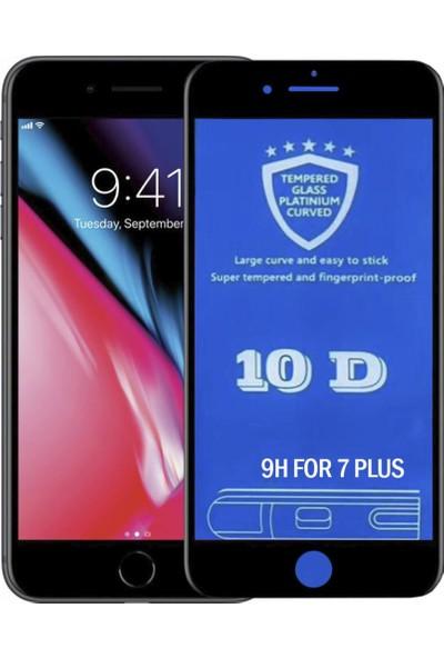Bufalo iPhone 7/8 Plus 10D NANO Cam Ekran Koruyucu Siyah