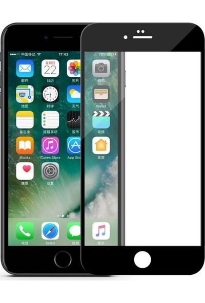 Bufalo Apple iPhone 8 Kavisli 5D Cam Ekran Koruyucu Siyah