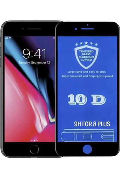 Bufalo iPhone 7 Plus / 8 Plus 10D NANO Cam Ekran Koruyucu Siyah