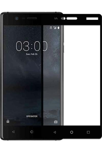 Bufalo Nokia 3 Kavisli 3D Cam Ekran Koruyucu