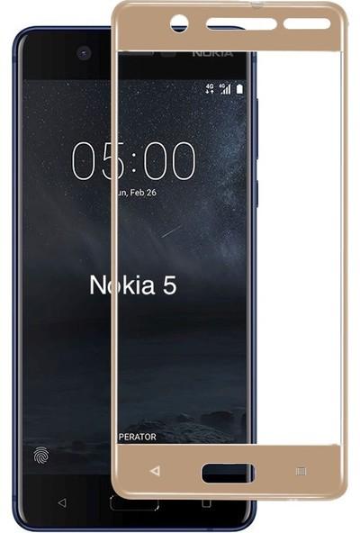 Bufalo Nokia 5 Kavisli 3D Cam Ekran Koruyucu