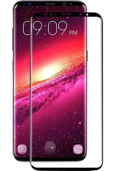 Bufalo Samsung S9 Plus (G965) Kavisli 4D Cam Ekran Koruyucu Siyah