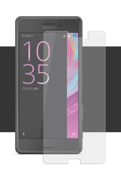 Notech Sony Xperia X Cam Ekran Koruyucu