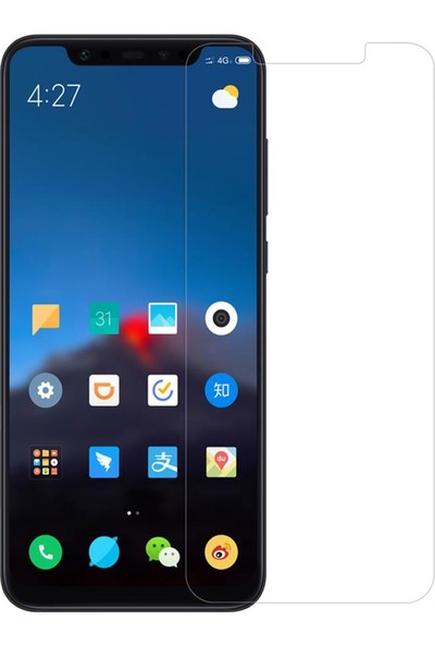 Notech Xiaomi Mi 8 Cam Ekran Koruyucu