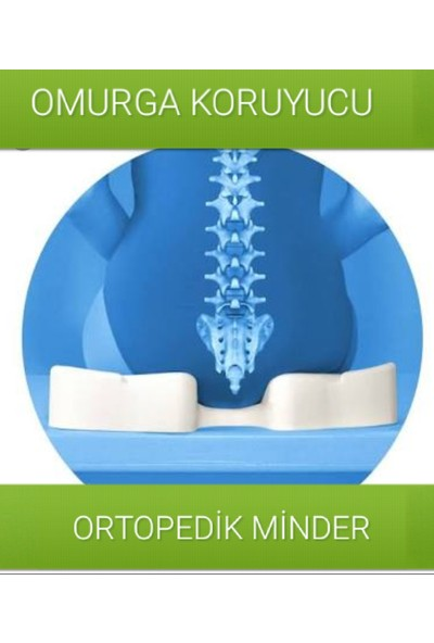 Softlife Visco Foam Coccyx Oturma Minderi
